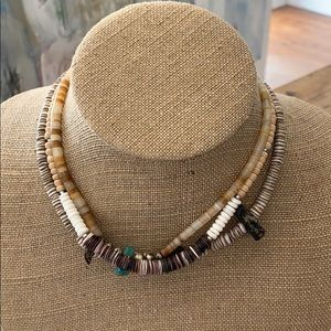 African Beaded Chokers Set of 3
